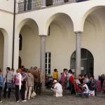 Palazzo Ferrero chiostro