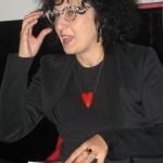 La scrittrice Silvia Tesio.