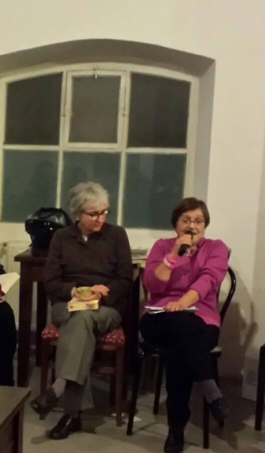 Maria Antonietta Macciocu e Donatella Moreschi